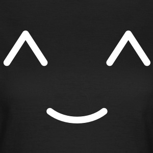 Smiley Smil T-shirts - Dame-T-shirt