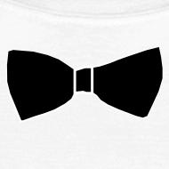 Motif ~ Faux Noeud Papillon blanc femme
