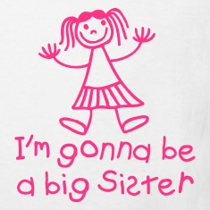 I'm gonna be a big sister Kinder T-Shirts