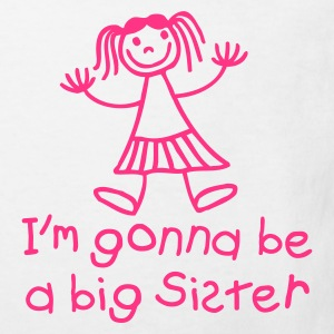 I'm gonna be a big sister Kinder T-Shirts - Kinder Bio-T-Shirt