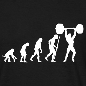 Evolution Power-Lifte  T-Shirts - Männer T-Shirt