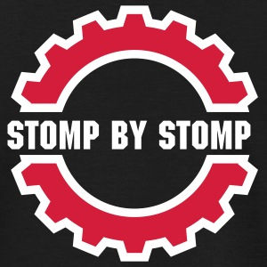 EBM Evolution - Stomp by Stomp (Vector) - Männer T-Shirt