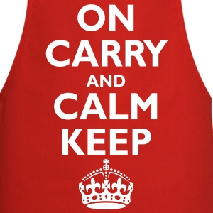 keep_calm_upside_down  Aprons - Cooking Apron