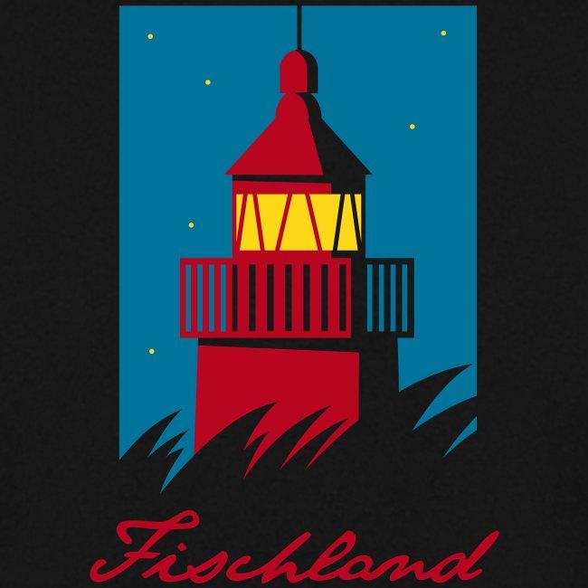 Leuchtturm auf dem Fischland, dunkel