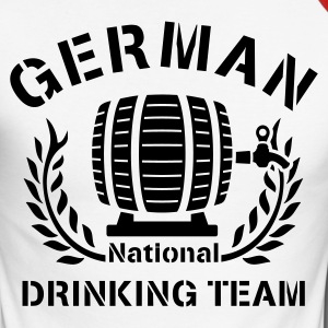 GERMAN NATIONAL DRINKING TEAM - Männer Baseballshirt langarm