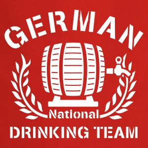 GERMAN NATIONAL DRINKING TEAM - Kochschürze