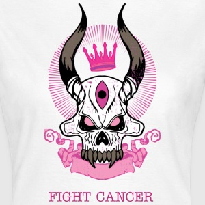 Fight Cancer - Dame-T-shirt
