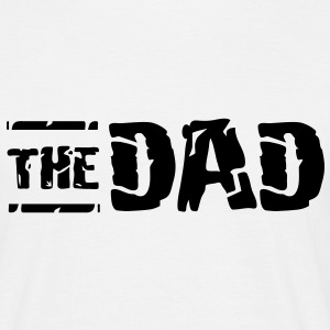 THE DAD Vintage Design T-Shirt WB - Männer T-Shirt
