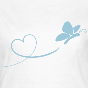 schmetterling is in love - Frauen T-Shirt