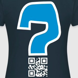 Question v2 - QR-code (2c, new) Tee shirts - Women's T-Shirt