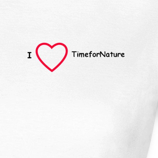 TimeforNature Damen Shirt mit I Love TimeforNature
