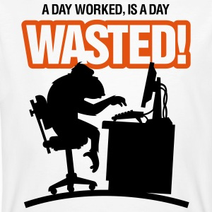 Wasted 2 (2c)++ T-shirts - Ekologisk T-shirt herr