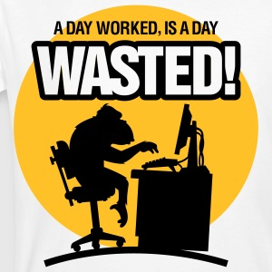 Wasted 1 (2c)++ T-Shirts - Men's Organic T-shirt