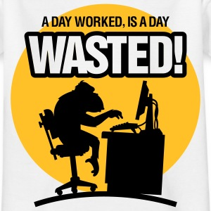 Wasted 1 (2c)++ Tee shirts Enfants - T-shirt Ado