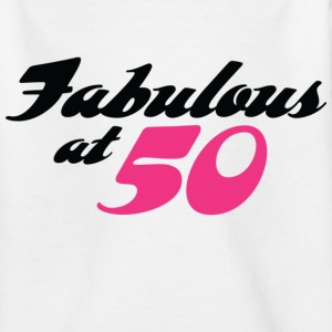 Fabulous At 50 (dd) Kids' Shirts - Teenage T-shirt
