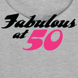 Fabulous At 50 (dd) Gensere - Premium hettegenser for menn