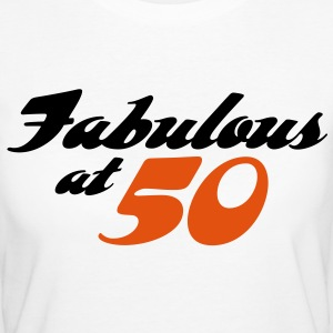 Fabulous At 50 (2c) T-Shirts - Women's Organic T-shirt