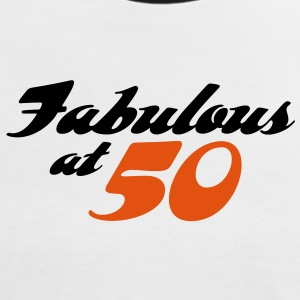 Fabulous At 50 (2c) T-Shirts - Women's Ringer T-Shirt