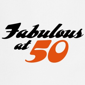 Fabulous At 50 (2c)  Aprons - Cooking Apron