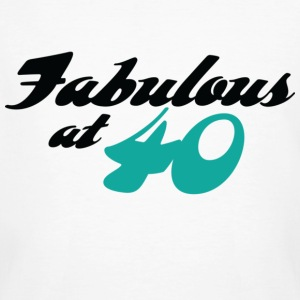 Fabulous At 40 (dd) T-Shirts - Männer Bio-T-Shirt