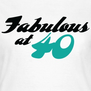 Fabulous At 40 (dd) T-Shirts - Women's T-Shirt