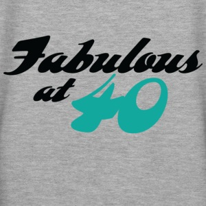 Fabulous At 40 (dd) Hoodies & Sweatshirts - Women's Premium Hoodie