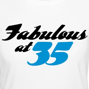 Fabulous At 35 (2c) T-Shirts - Women's Organic T-shirt