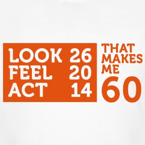 Look Feel Act 60 2 (1c)++ T-Shirts - Men's Organic T-shirt
