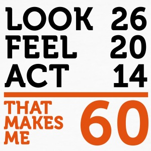 Look Feel Act 60 (2c)++ T-shirts - Mannen Bio-T-shirt