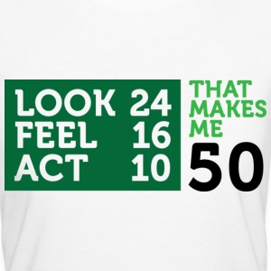 Look Feel Act 50 2 (dd)++ T-Shirts - Women's Organic T-shirt