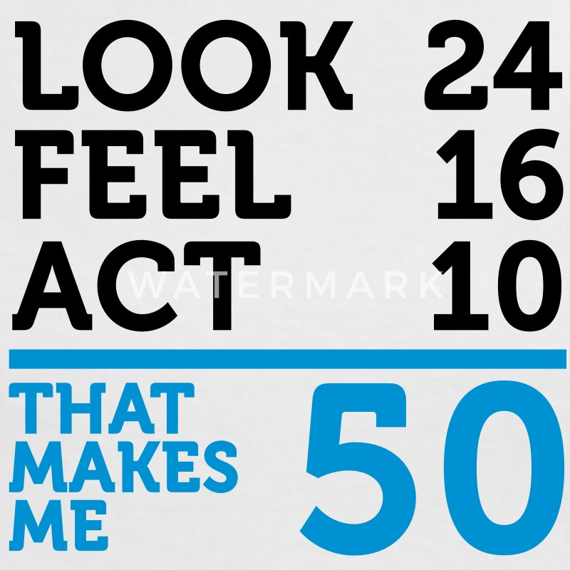 Look Feel Act 50 (2c)++ T-shirts - Dame kontrast-T-shirt