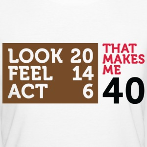 Look Feel Act 40 2 (dd)++ Camisetas - Camiseta ecológica mujer