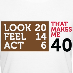 Look Feel Act 40 2 (dd)++ T-shirt - T-shirt ecologica da donna