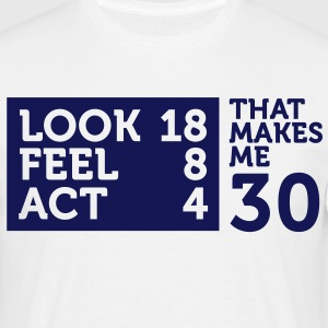 Look Feel Act 30 2 (1c)++ Camisetas - Camiseta hombre