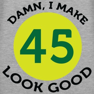 I Make 45 Look Good (dd)++ Gensere - Premium hettegenser for kvinner