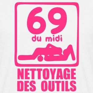 69 midi nettoyage outils Tee shirts - T-shirt Homme