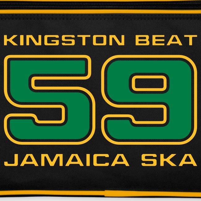 schwarze Retro-Tasche Kingston Beat 59
