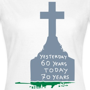 tombstone pierre tombaley esterday 60 Tee shirts - T-shirt Femme