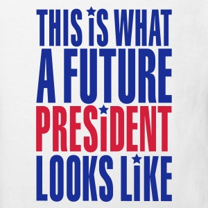 This is what a future president looks like Kinder T-Shirts - Kinder Bio-T-Shirt