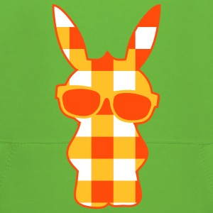 A cool checkered bunny with sunglasses Kids' Tops - Kids' Premium Hoodie
