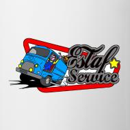 Motif ~ Estaf'Service Mug