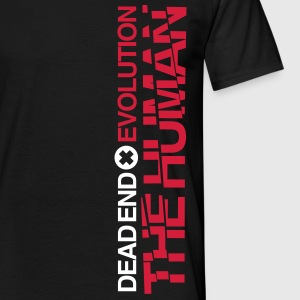 Dead End x Evolution - The Human T-Shirts - Männer T-Shirt