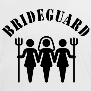 Brideguard, Women's Contrast T-Shirt - Women's Ringer T-Shirt