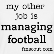 Design ~ my other job is managing football