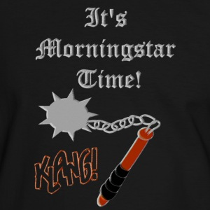 Medieval Weapon morningstar by Patjila T-shirts - Mannen contrastshirt
