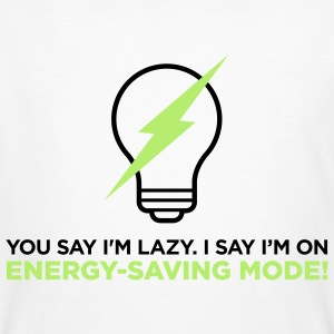 Energy Saving Mode 2 (2c)++ T-Shirts - Men's Organic T-shirt