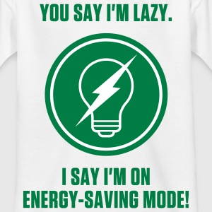 Energy Saving Mode 1 (2c)++ Kids' Shirts - Teenage T-shirt