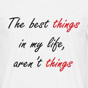 Best things Camisetas - Camiseta hombre