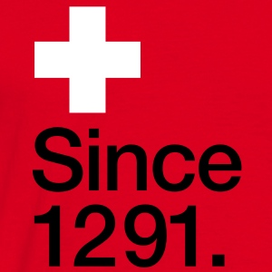 Switzerland, since 1291 - Men's T-Shirt
