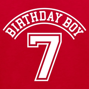 Birthday Boy 7 Kinder T-Shirts - Kinder Bio-T-Shirt